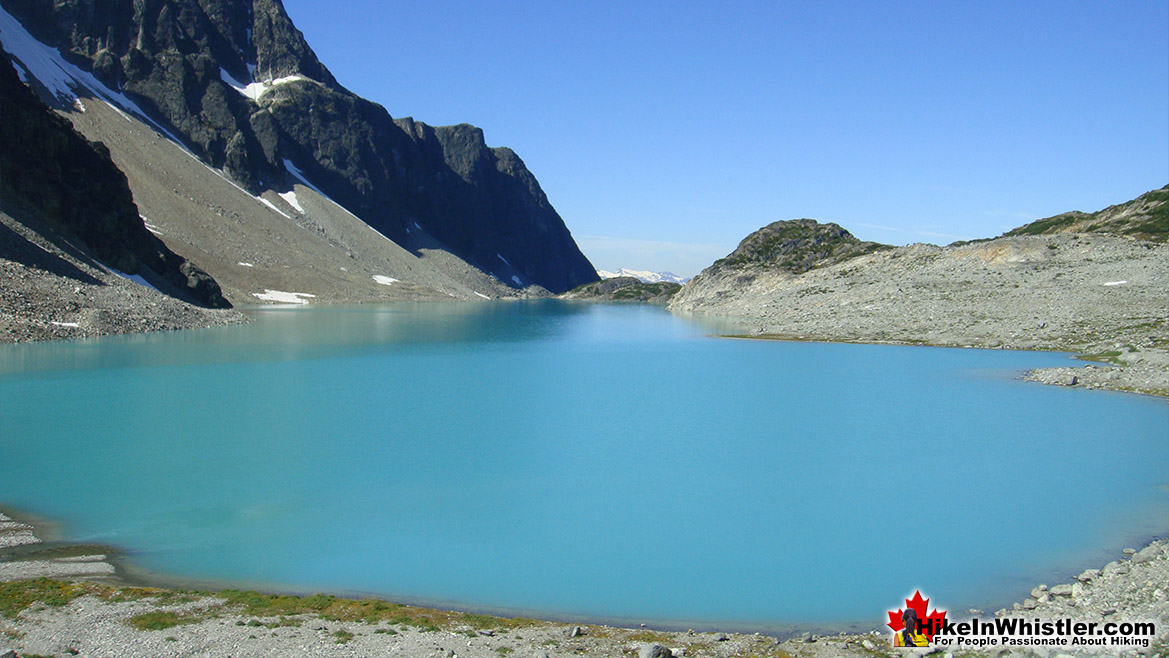 Wedgemount Lake in Garibaldi Provincial Park