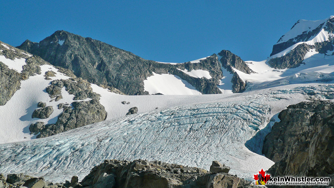 Arete Above Wedgemount Glacier