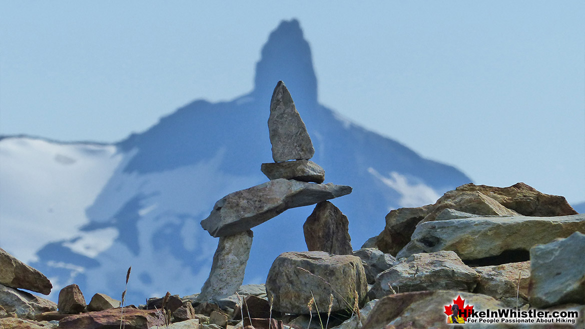 Inukshuck and Distant Black Tusk