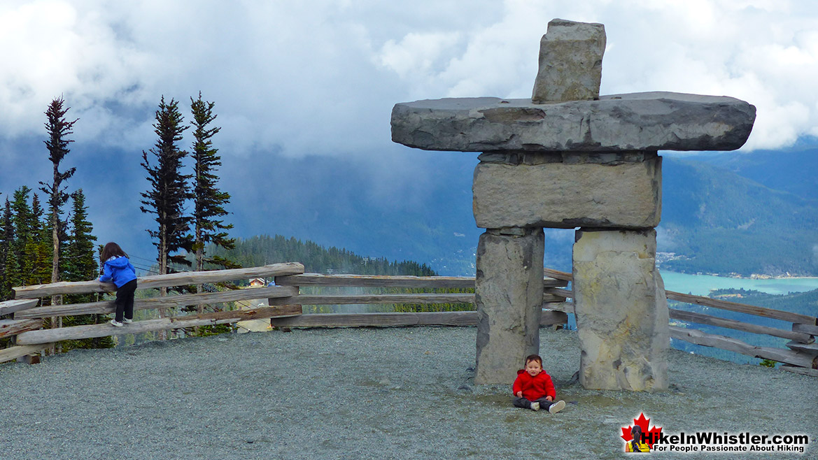 Inukshuck on Whistler Mountain