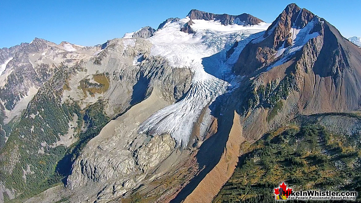 Fitzsimmons Creek Source Overlord Glacier