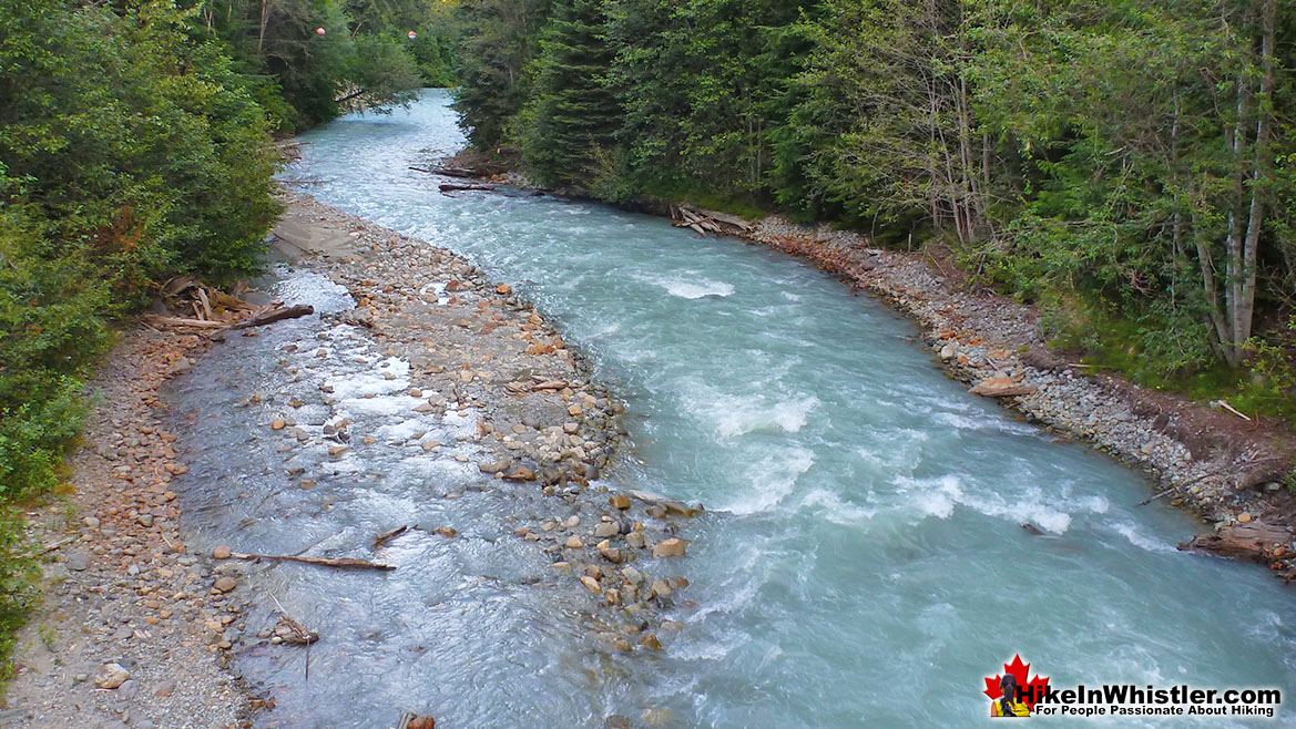 Fitzsimmons Creek in Whistler