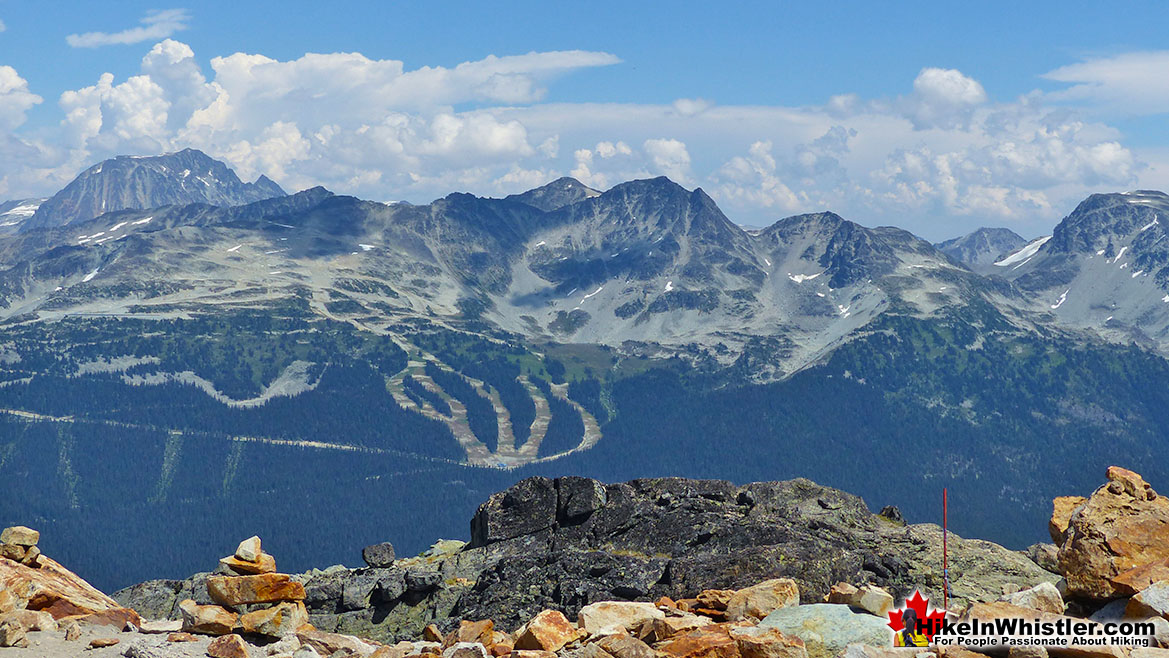 Spearhead Range from Whistler Mountain