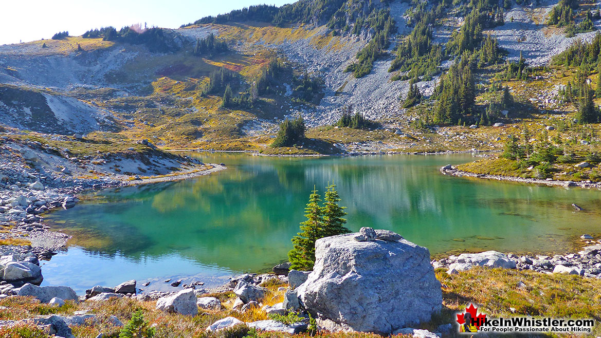 Adit Lakes Tarns in Whistler