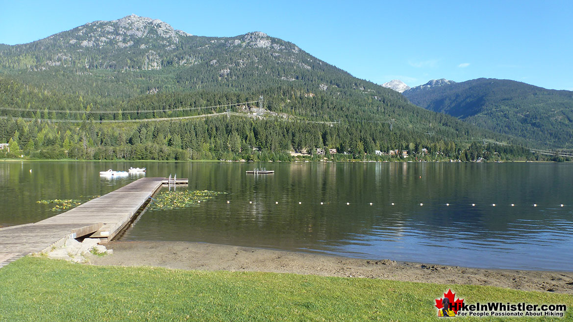 Best Whistler Parks - Lakeside Park View