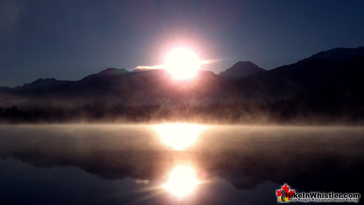 Best Whistler Parks - Rainbow Park Sunrise