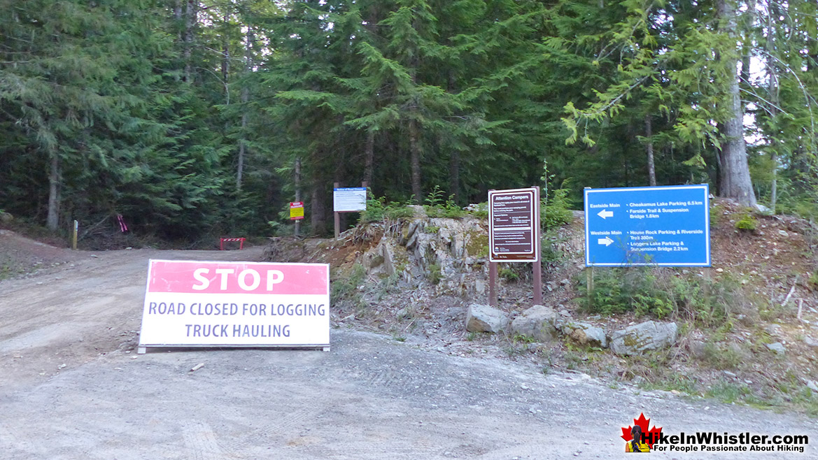Cheakamus Lake Road Access Closed