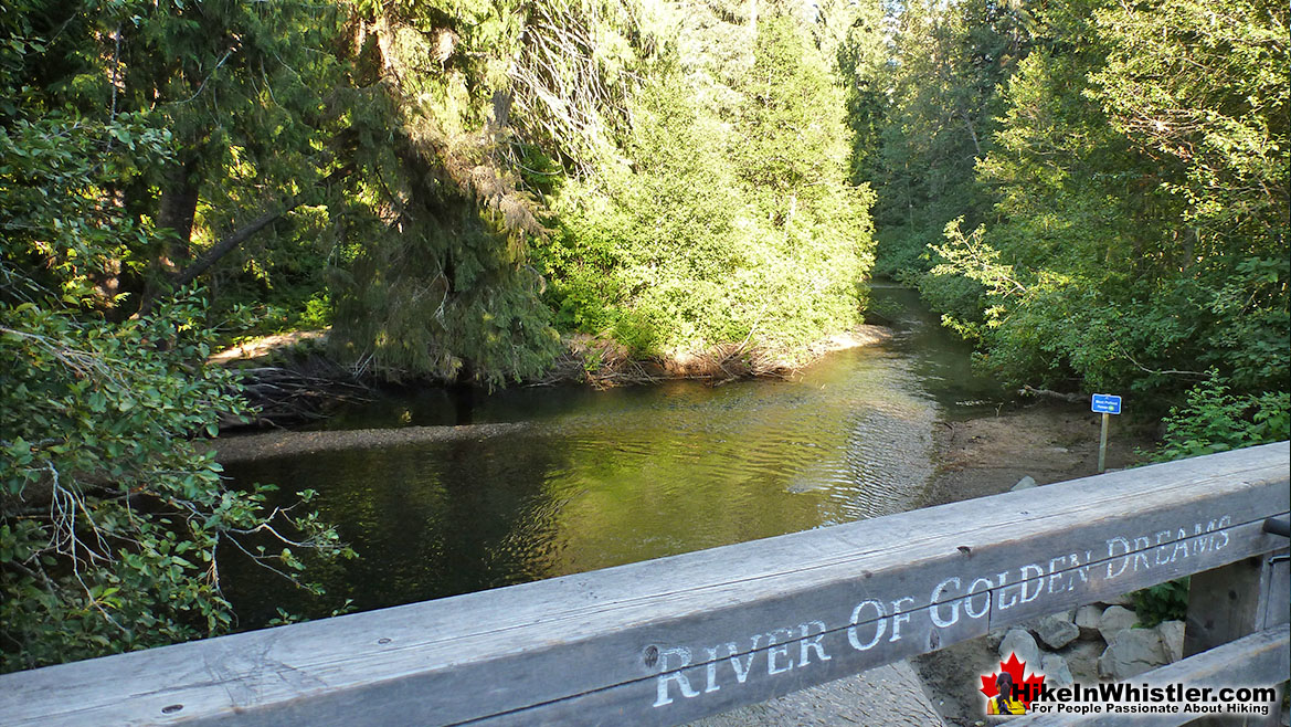 River of Golden Dreams Run in Whistler