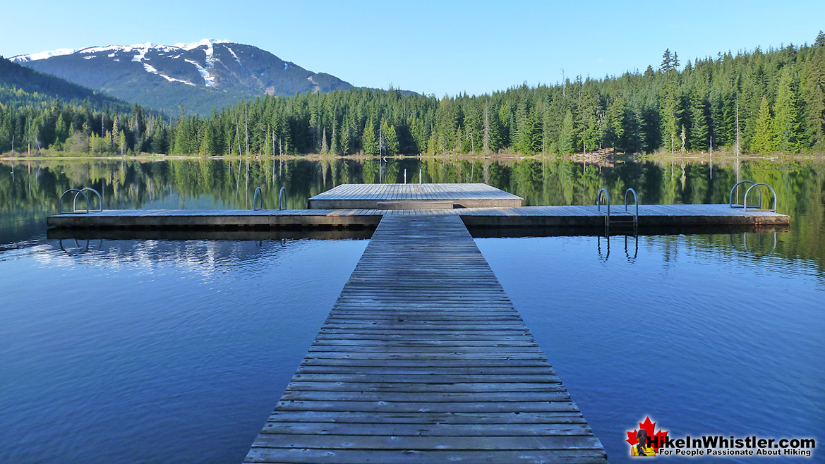 Lost Lake Pier Run in Whistler