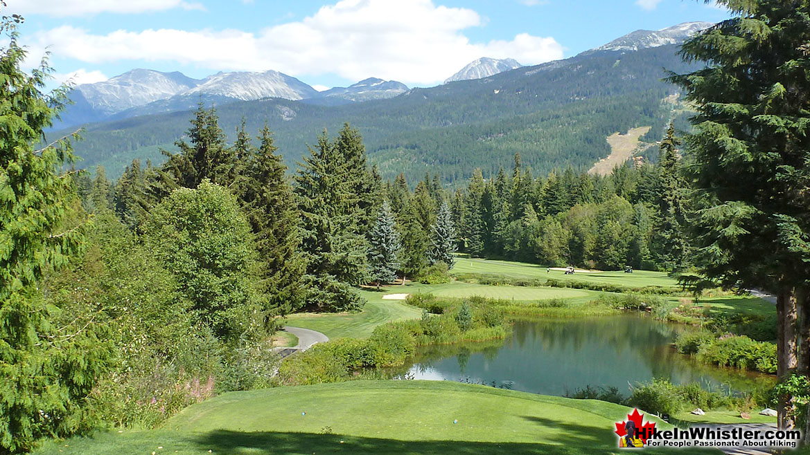 Mountain Views from the Whistler Golf Course 5k