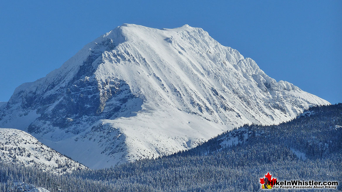 Wedge Mountain in the Winter