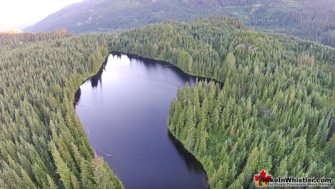Showh Lakes Aerial View