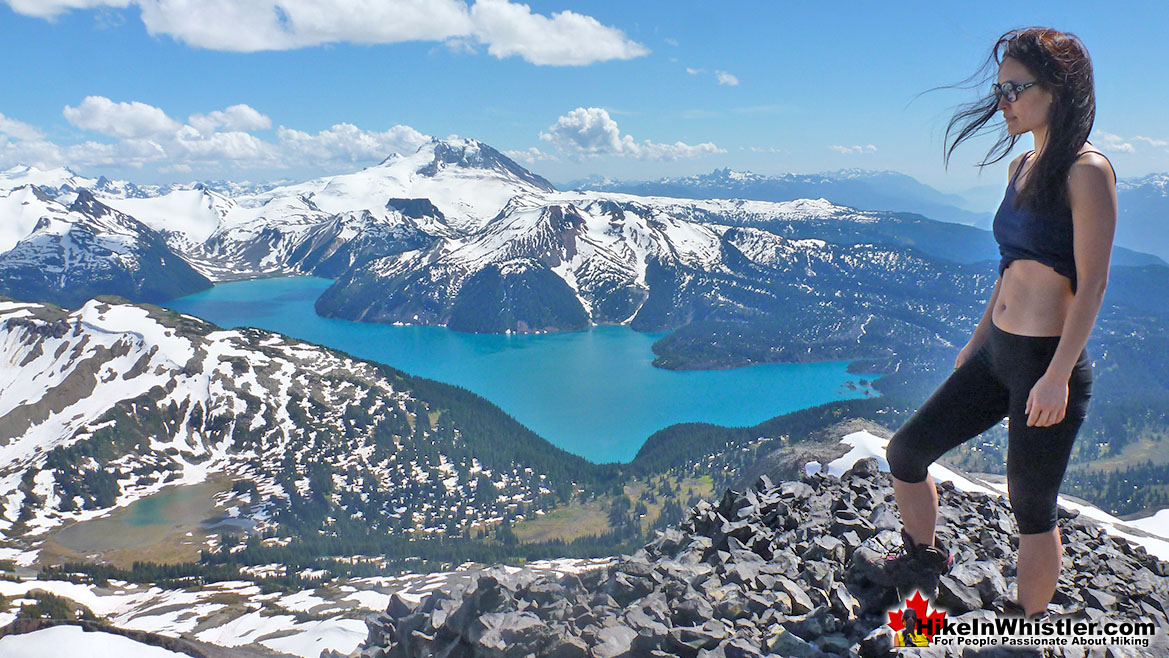 Black Tusk Hike in Whistler in September