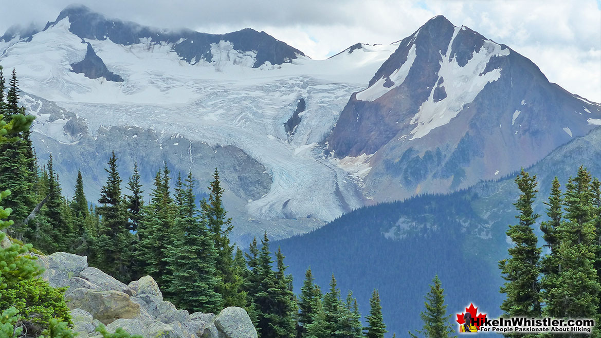Blackcomb Mountain view of Overlord Glacier and The Fissile