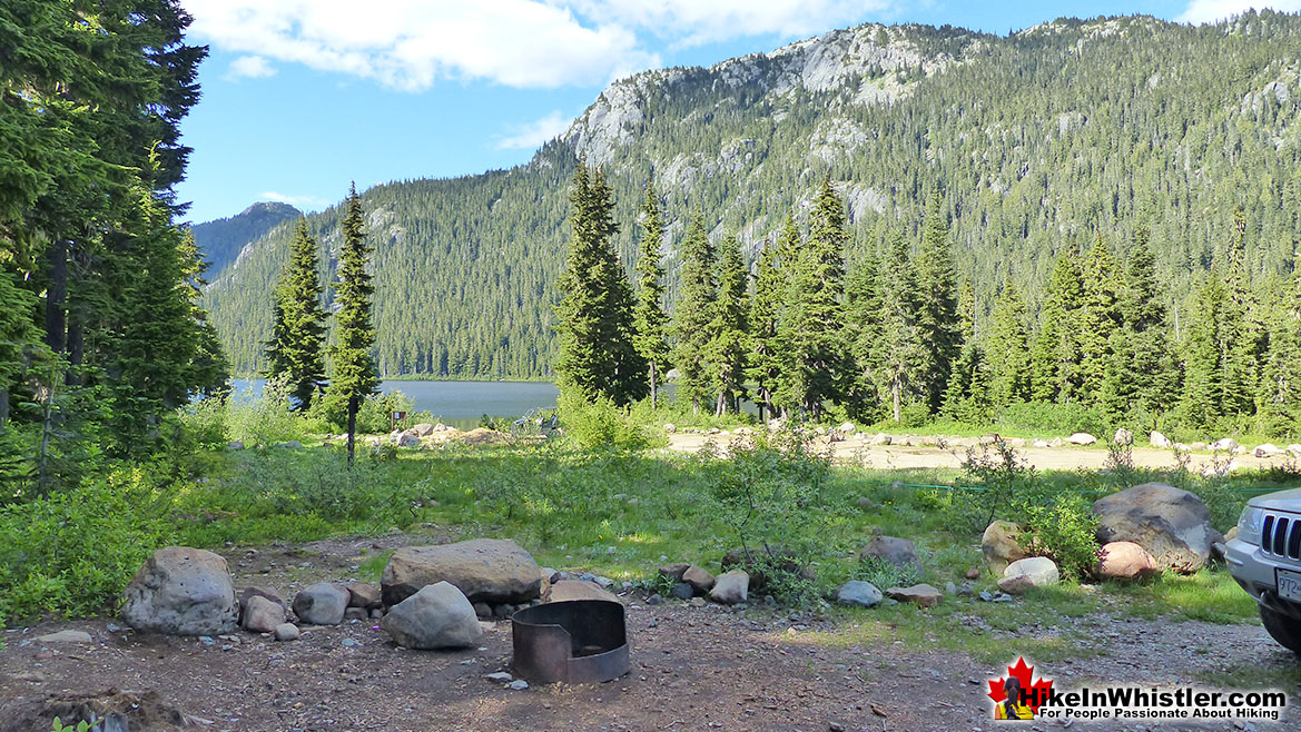 Callaghan Lake Campsite 300 Metres from Ring Lake Trailhead