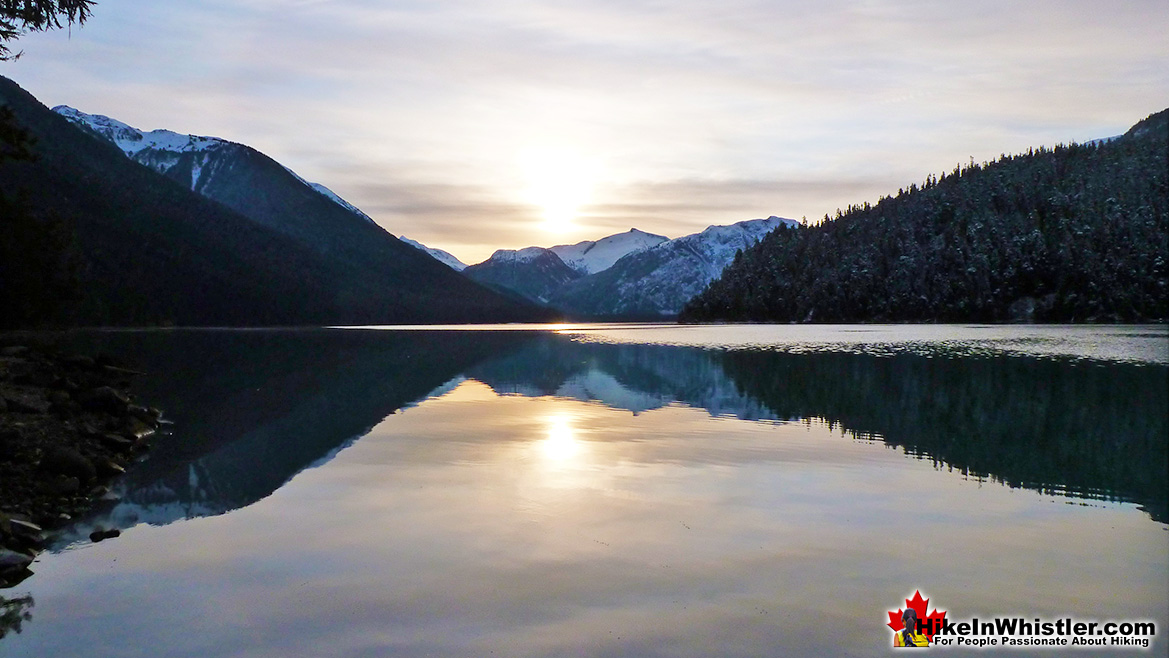 Cheakamus Lake in November