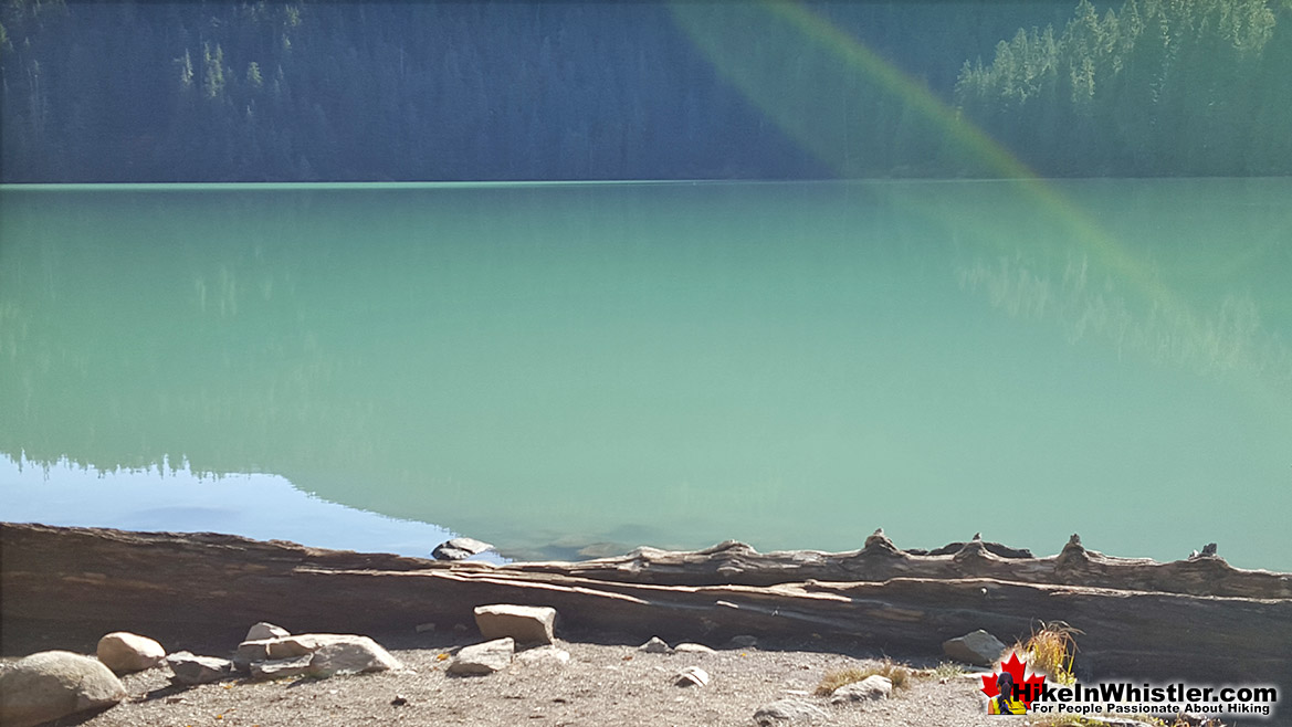Cheakamus Lake Pocket Beach View