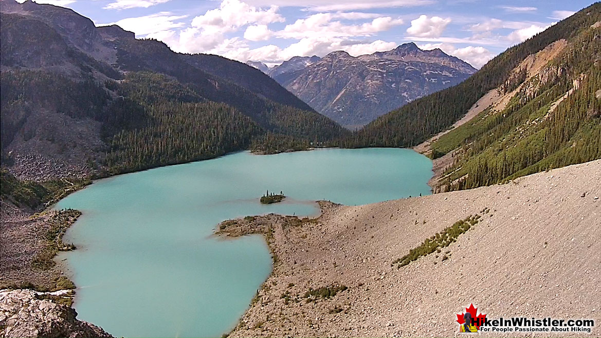 Joffre Lakes Aerial View 32