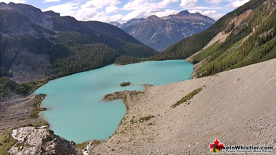 Joffre Lakes Aerial View 35