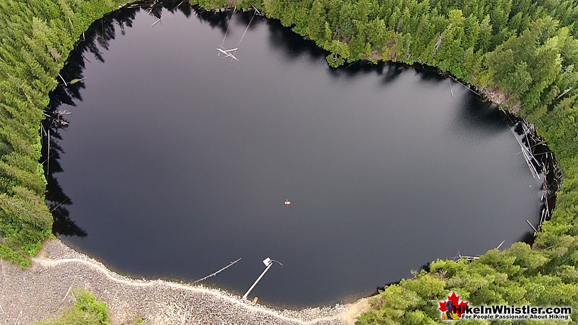 Logger's Lake Aerial View