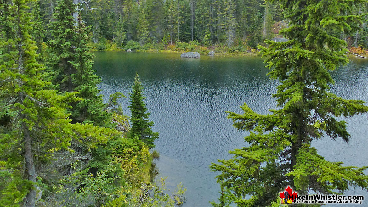 Fall Camping in Whistler: Newt Lake