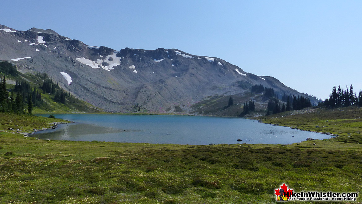 Black Tusk Lake Near Panorama Ridge