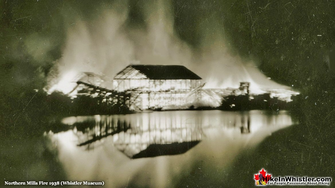 Parkhurst Northern Mills Fire in 1938