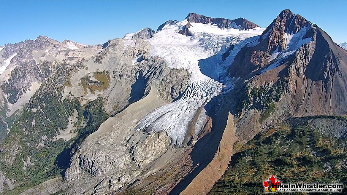 Overlord Glacier from Russet Lake, Garibaldi Provincial Park