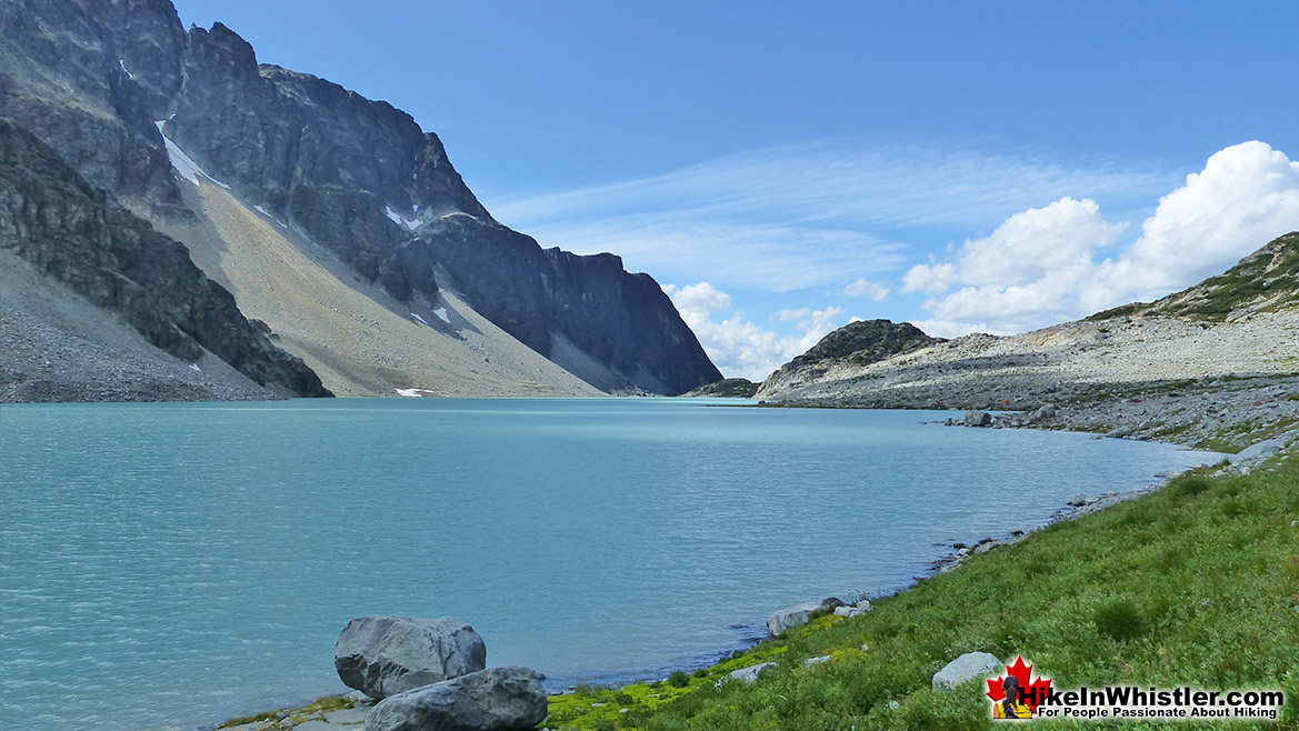 Beautiful Wedgemount Lake in August
