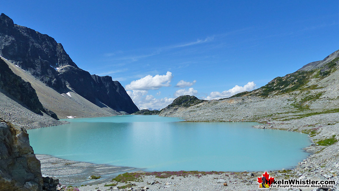 Beautiful Wedgemount Lake