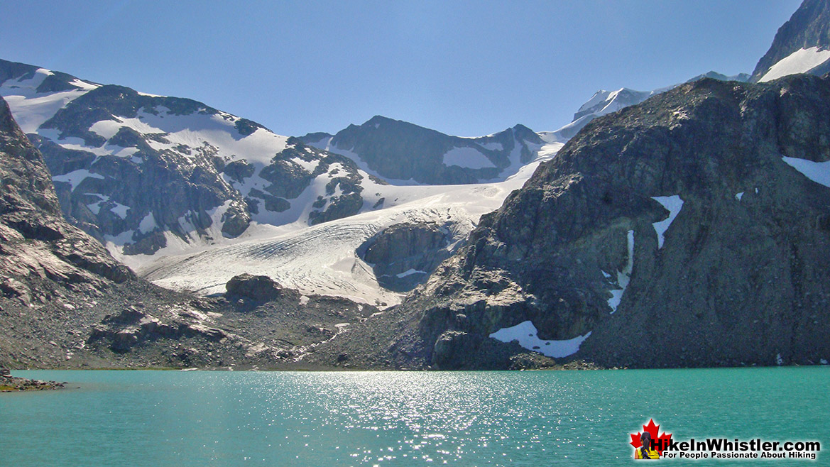 Wedgemount Lake in the Summer