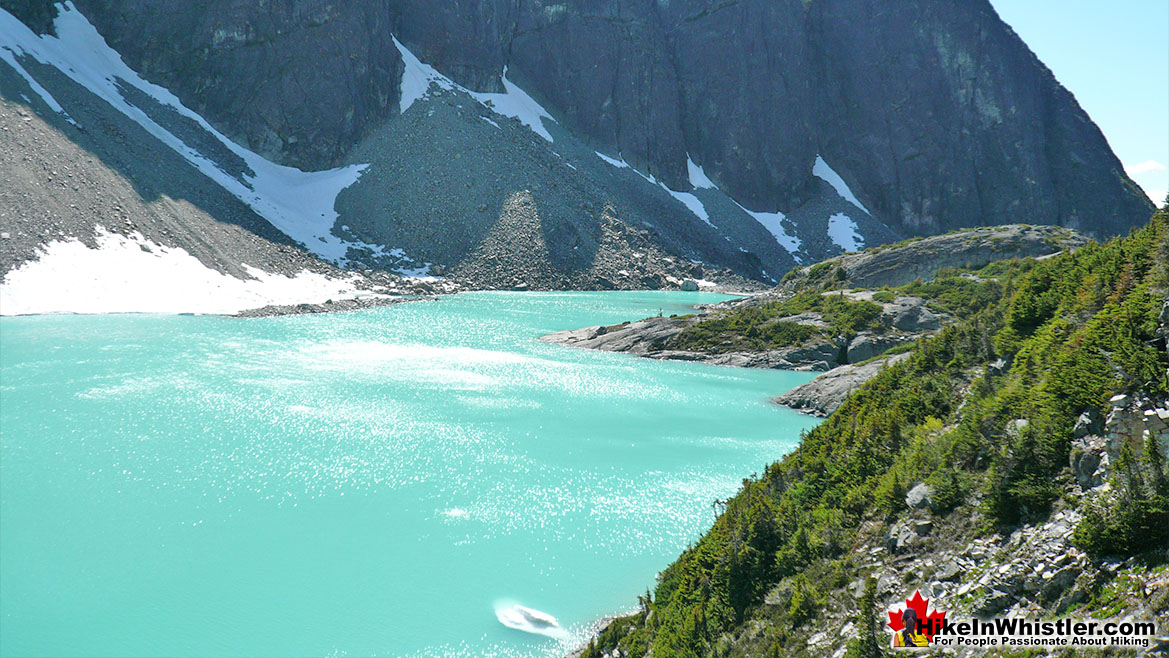 Wedgemount Lake Iceburg