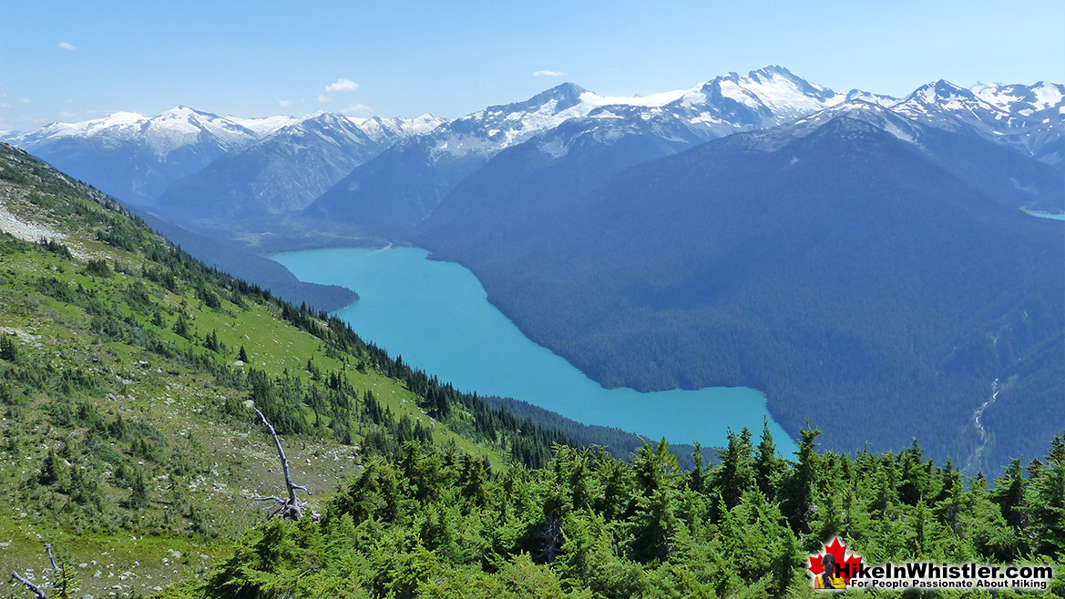 Whistler Mountain View of Cheakamus Lake
